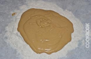 тесто для торта медового