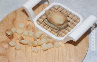 вареный очищенный картофель