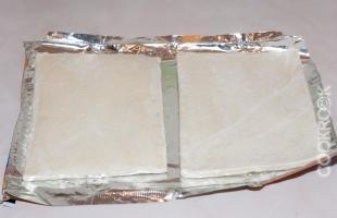тесто слоеное бездрожжевое