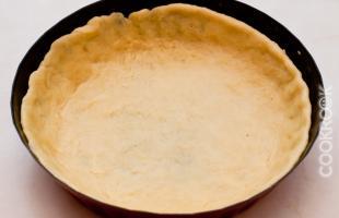 основа песочного пирога