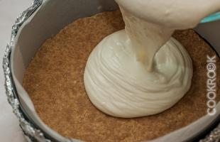 сливочный крем для чизкейка на основе из печенья
