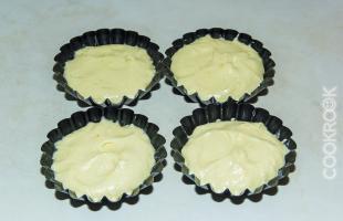 металлическая форма для кексов