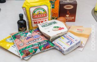 продукты для булочек с корицей Синнабон