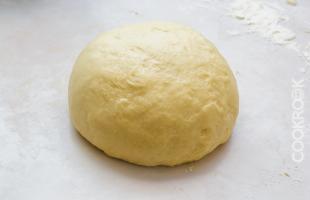 дрожжевое тесто для булочек с корицей Синнабон