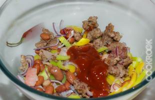 начинка для мексиканского буррито