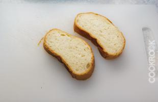 белый хлеб для бутерброда