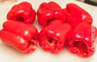 красный болгарский перец для фарширования