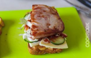 бутерброд с бужениной
