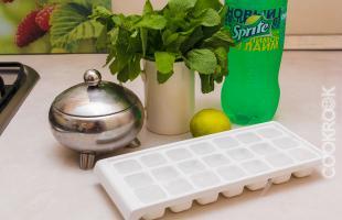продукты для мохито