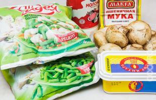 продукты для цветной капусты с брокколи в духовке