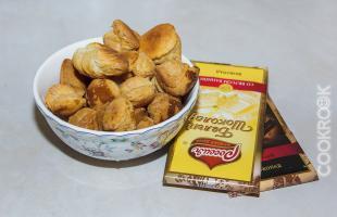 продукты для приготовления печенья из волованов