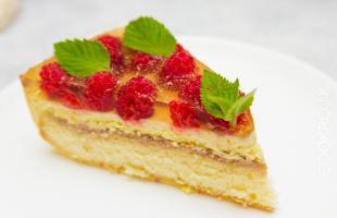 ягодный торт с желе