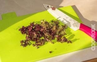 лолло росса или коралловый салат