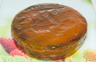 приготовление торта Захер