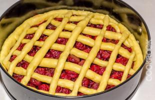 сборка пирога