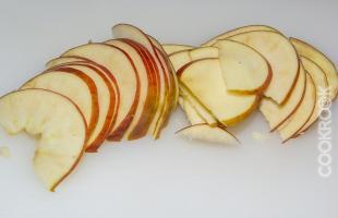 дольки из яблок