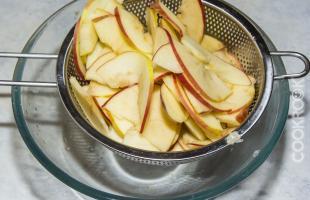 яблоки после микроволновки