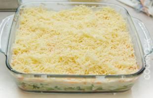 натертый сыр для салата