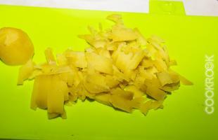 отварной картофель соломкой