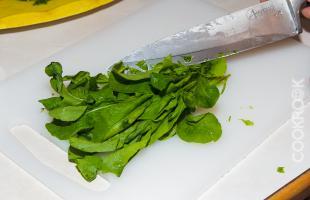 шпинат для салата