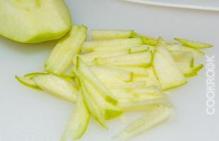 яблоки для салата