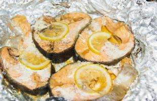 лосось в мультиварке