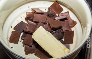 шоколад для фондана