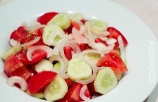 овощи для шопского салата