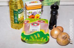 продукты для сочных котлет из куриного фарша