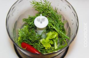 зелень для гуакамоле