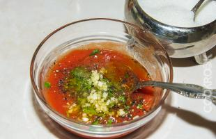 домашний соус