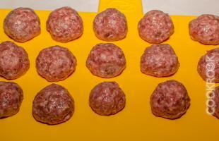 фрикадельки из говядины