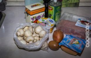 продукты для свинины в духовке