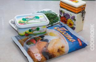 Продукты для приготовления волованов
