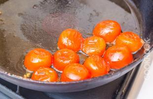 жареные томаты