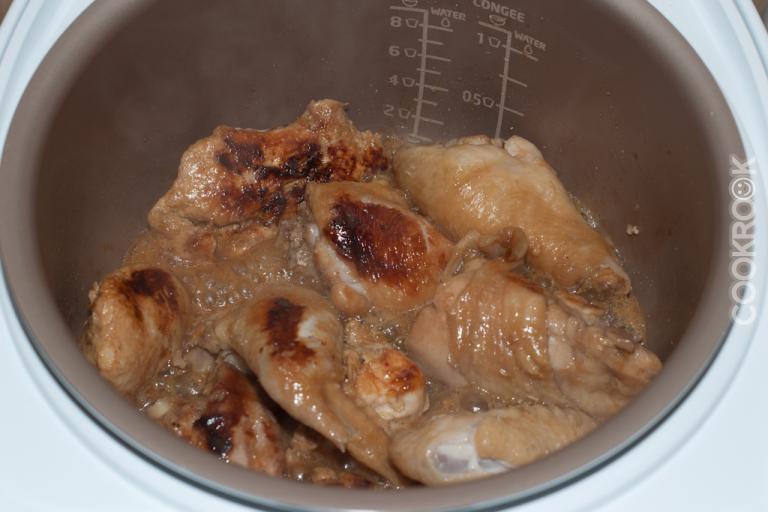 Курица с медом и соевым соусом в духовке рецепт с пошагово в