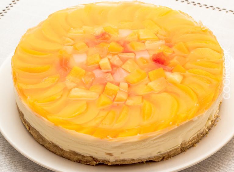 Творожный торт с ананасами без выпечки рецепт 118