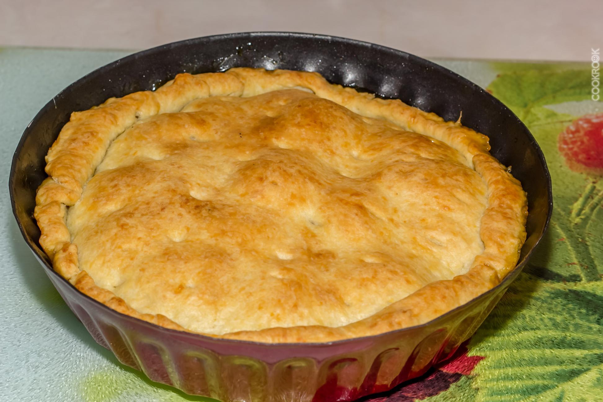 Постный пирог с яблоками рецепт пошагово