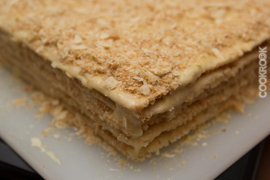 рецепт торт слоеный из коржей