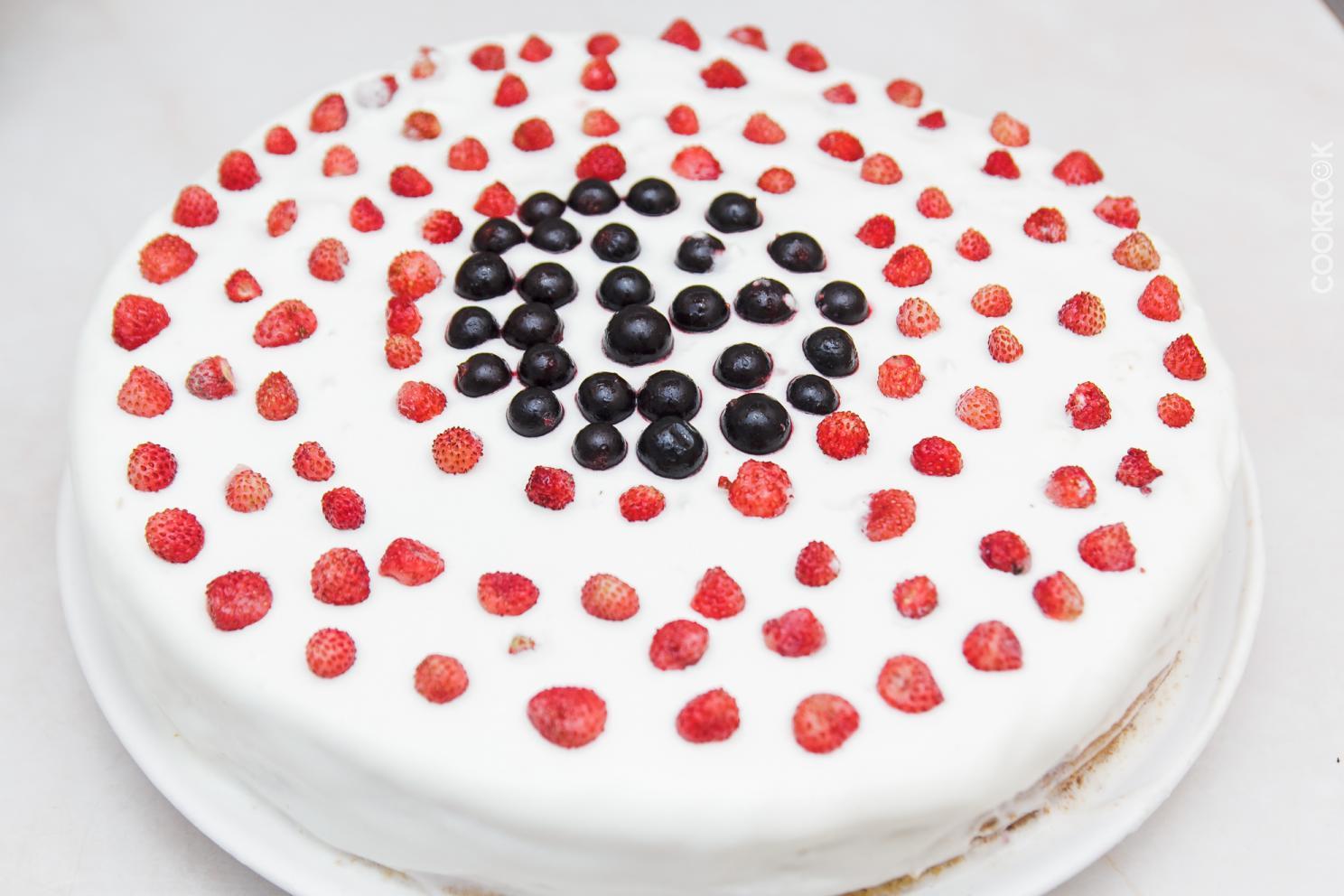 Торт с грецкими орехами рецепты