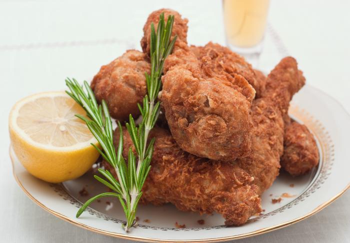 Рецепт куриных ножек во фритюре (фри)