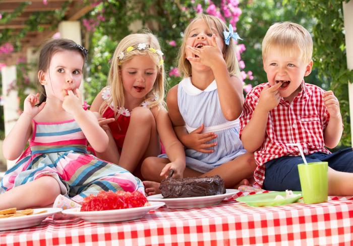 Что любят кушать наши дети