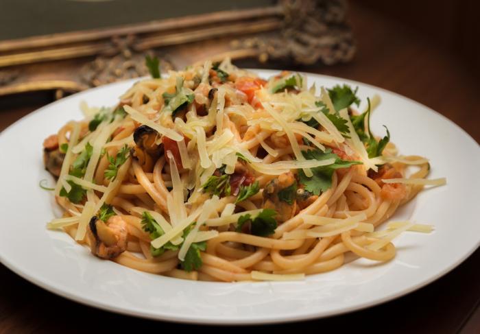 Рецепты итальянской пасты с морепродуктами