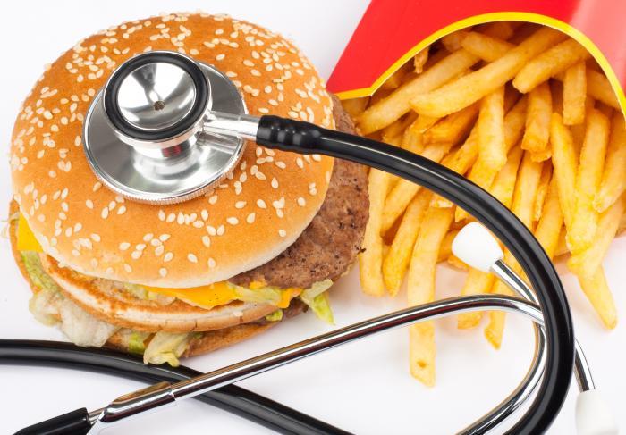Быстрое поглощение пищи вредно