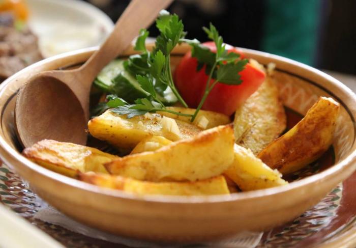 Жареный картофель — секреты приготовления