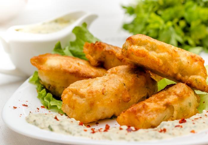 Рецепт филе рыбы в кляре с соусом тартар