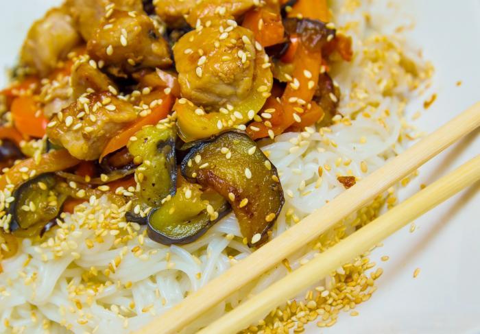 Рецепт китайской лапши