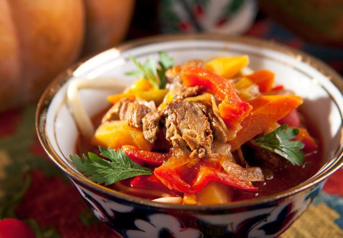Что едят уйгуры