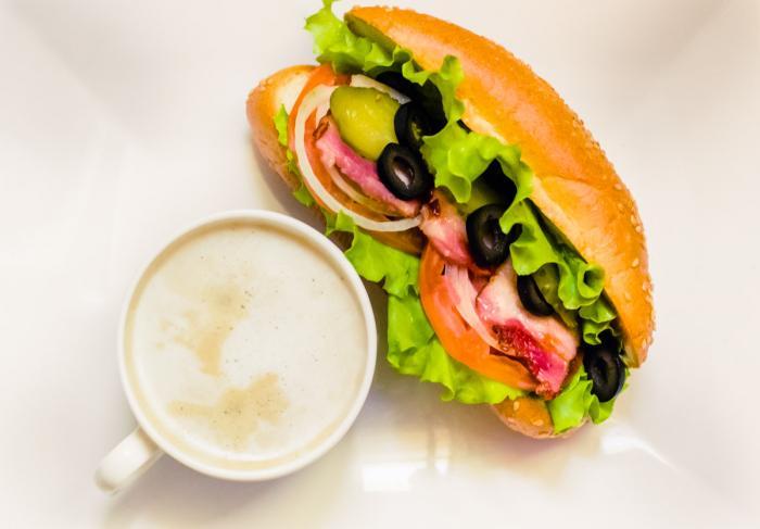 Простой и вкусный бутерброд