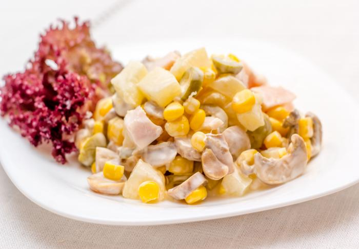 Рецепт салата «Шанхай»